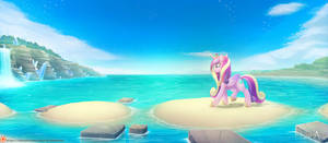 Cadance Beach Trip