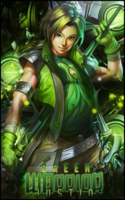 Green Warrior by GFXJustin