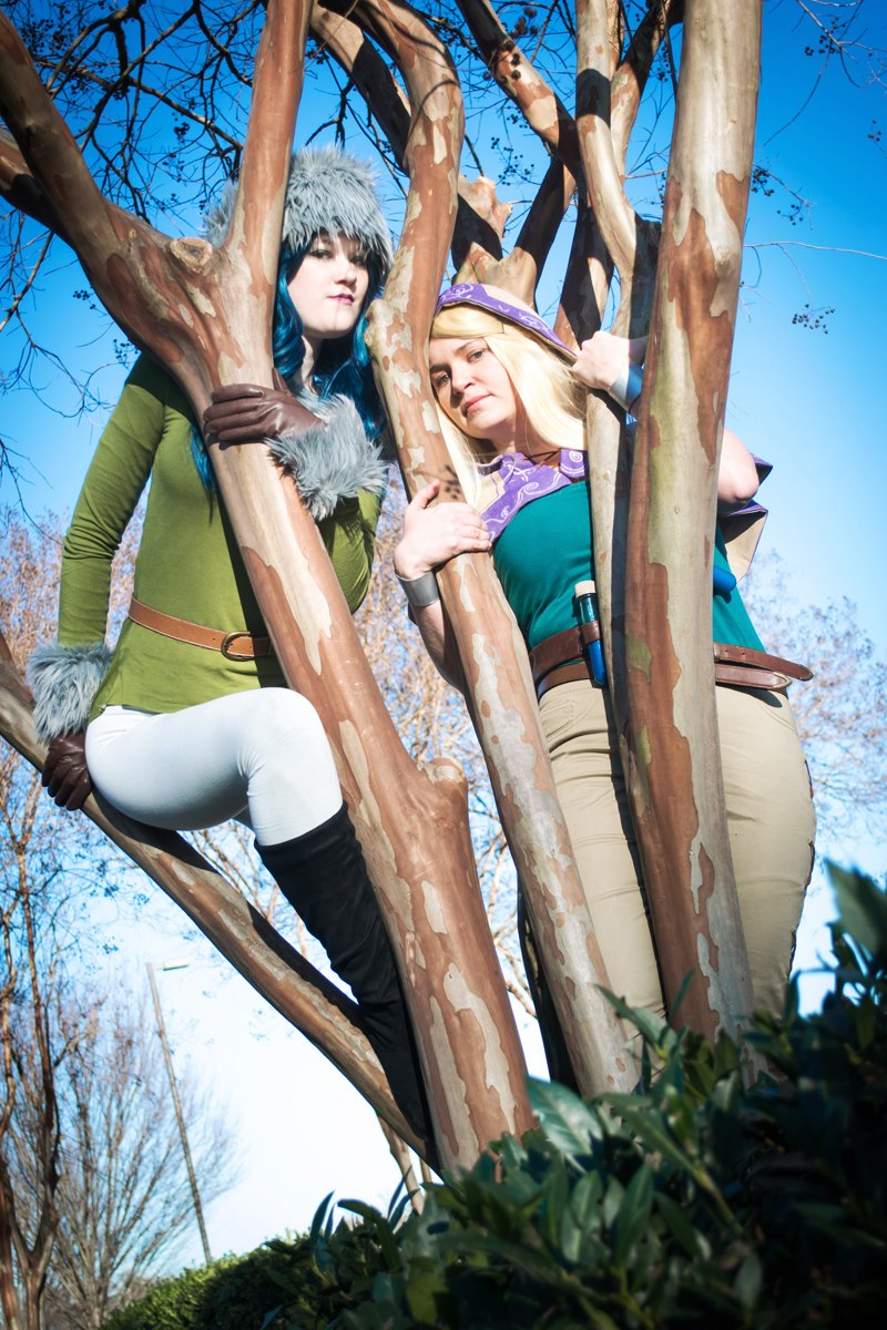 Ichiban 2013: Caitlyn and Lux by melvinopolis