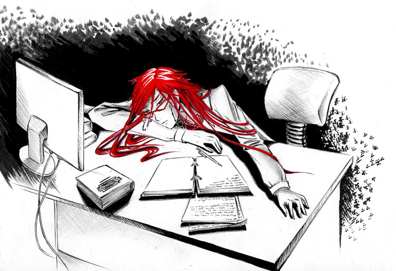 Grell at work