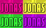 JONAS Pop Art Warhol Style