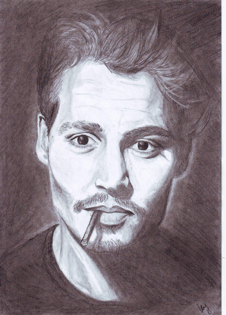 Cigarette Johnny Depp By MKoji