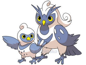arctic owls fakemon