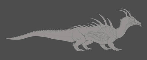 Crocoderg Doodle by DelusionalPuffball