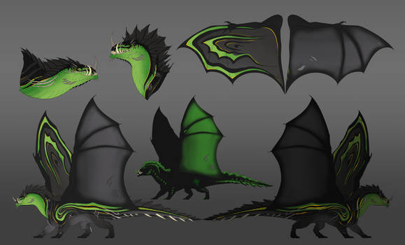 Commission #85 - Brutus Reference Sheet