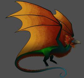 Art Trade - Aztec Dragon (No Horns)