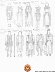 Ancient Wardrobe Study by ElderlyCartographer