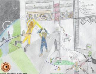 Yonstone Orbital Tournament Arena by ElderlyCartographer