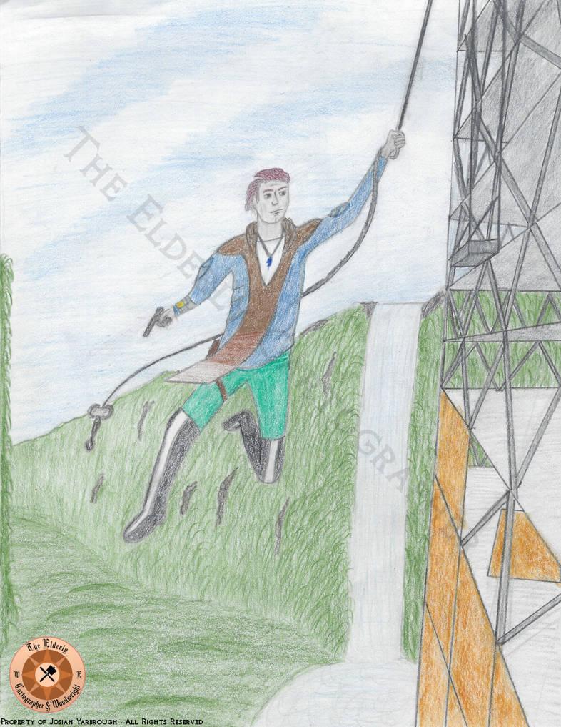 Kid Korbitt in Action by ElderlyCartographer
