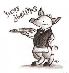 Serveur Du Porc by TehMomo