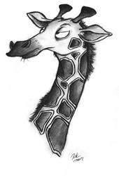 Giraffe by TehMomo
