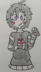 Human Marionette - FNAF by WolfReed301