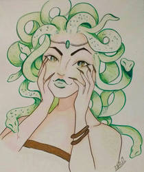 Medusa by WolfReed301