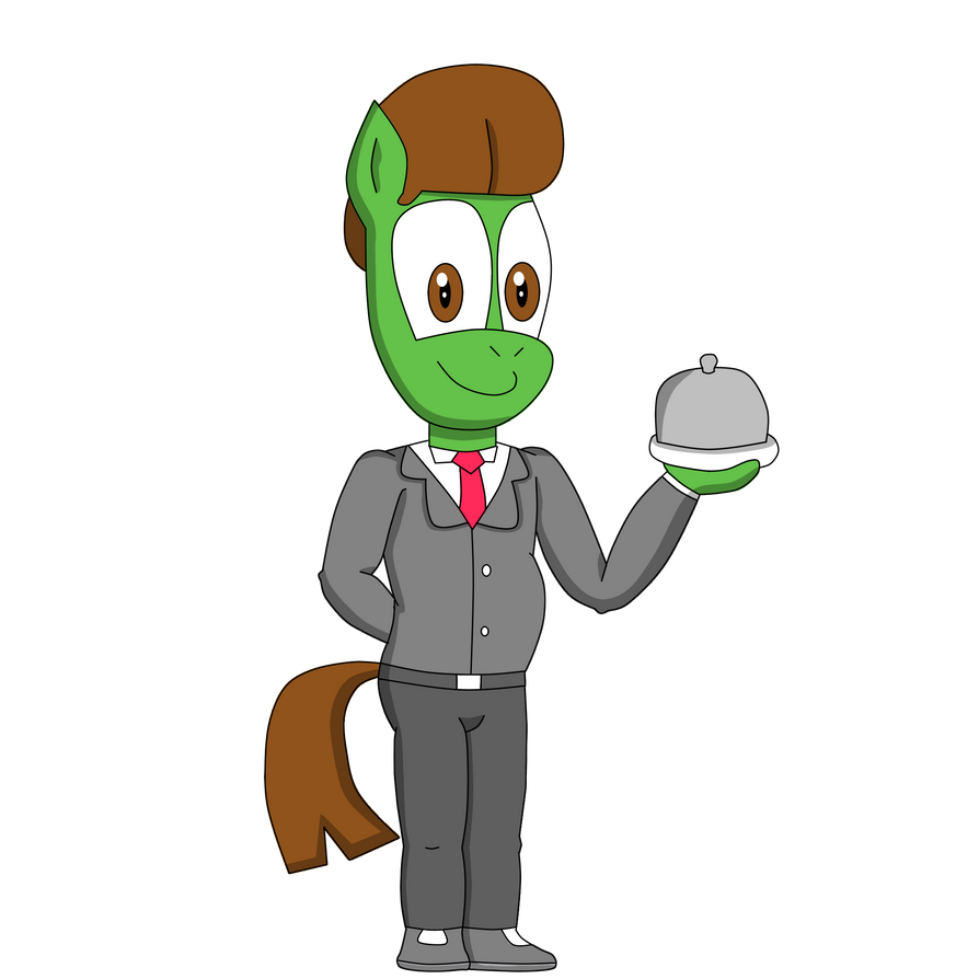T Pony The Butler by TVideshow
