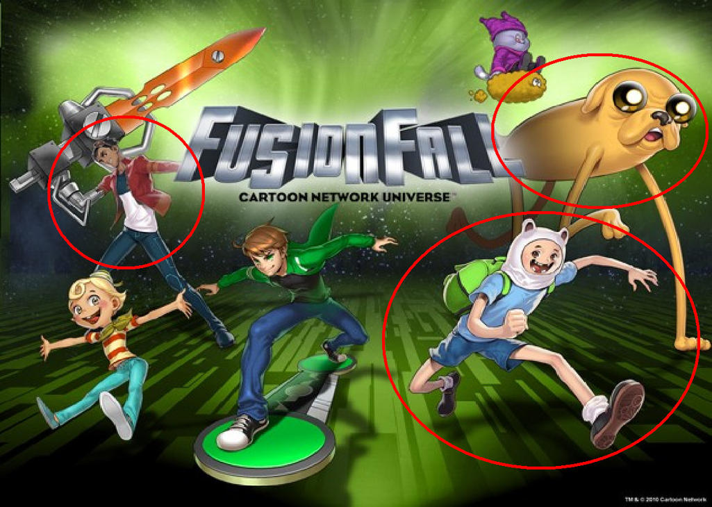 FusionFall - More NPC's by ian2x4