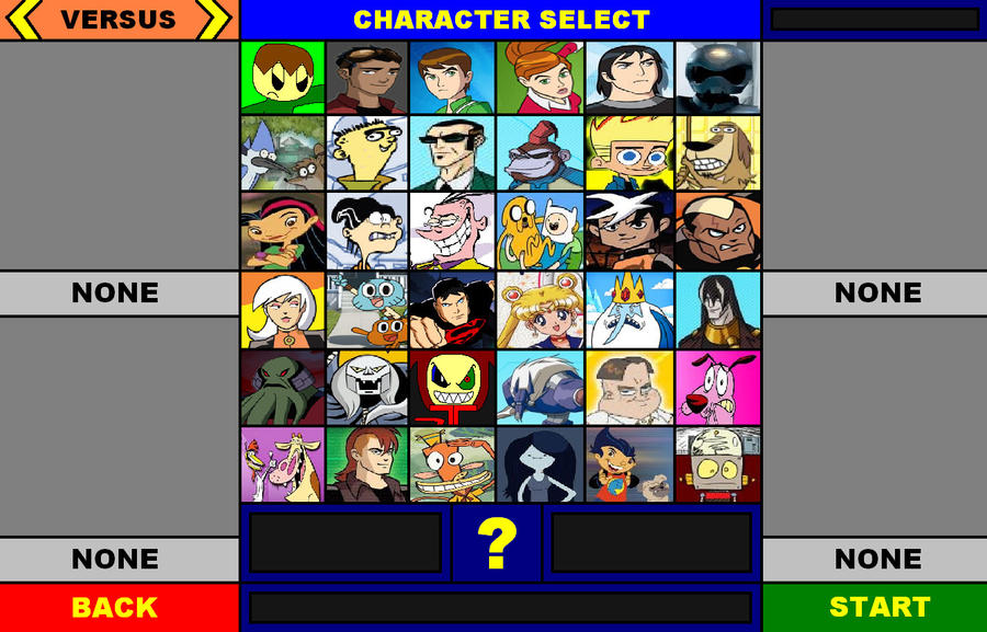 ian i and cn allstars smash zone char roster by