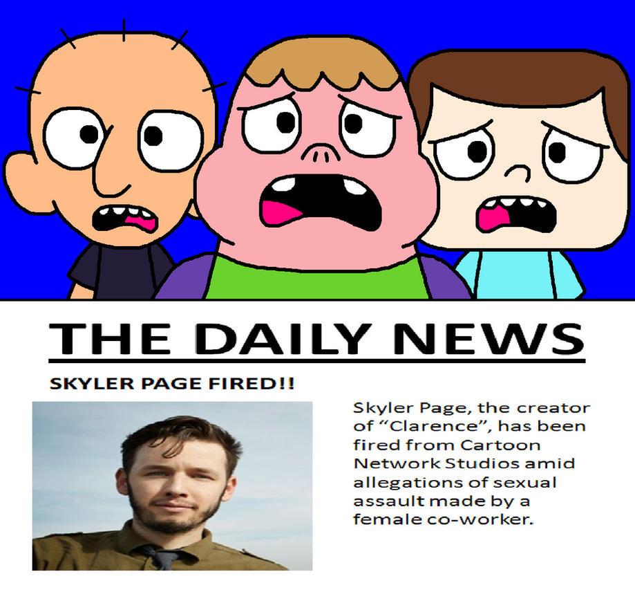 skyler page incident