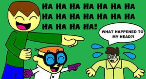 Ian and Dexter's Reaction - Jared's Shrunken Head