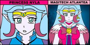 Magitech Aqua - Princess Nyla