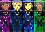 Armor Strikers: AstroBoost - Armor Suits