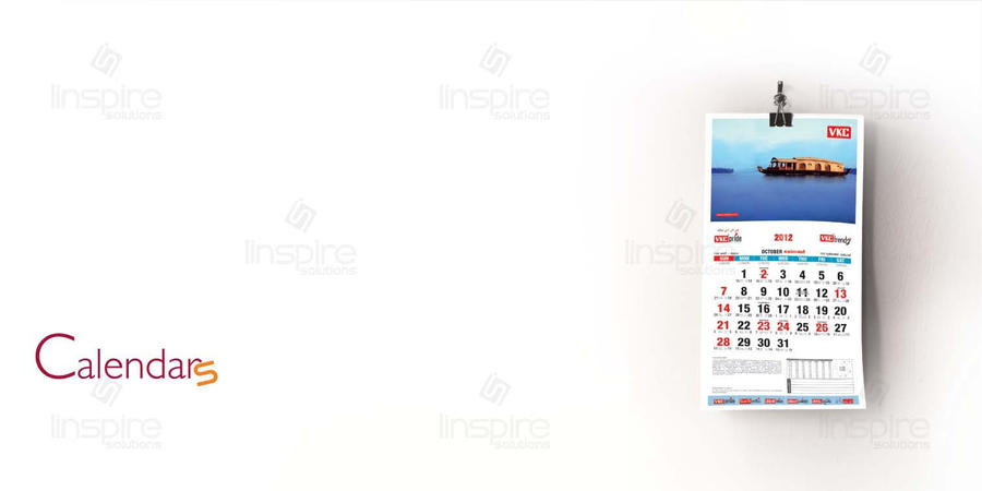 Calender Design Linspire Solutions by LinspireSolutions