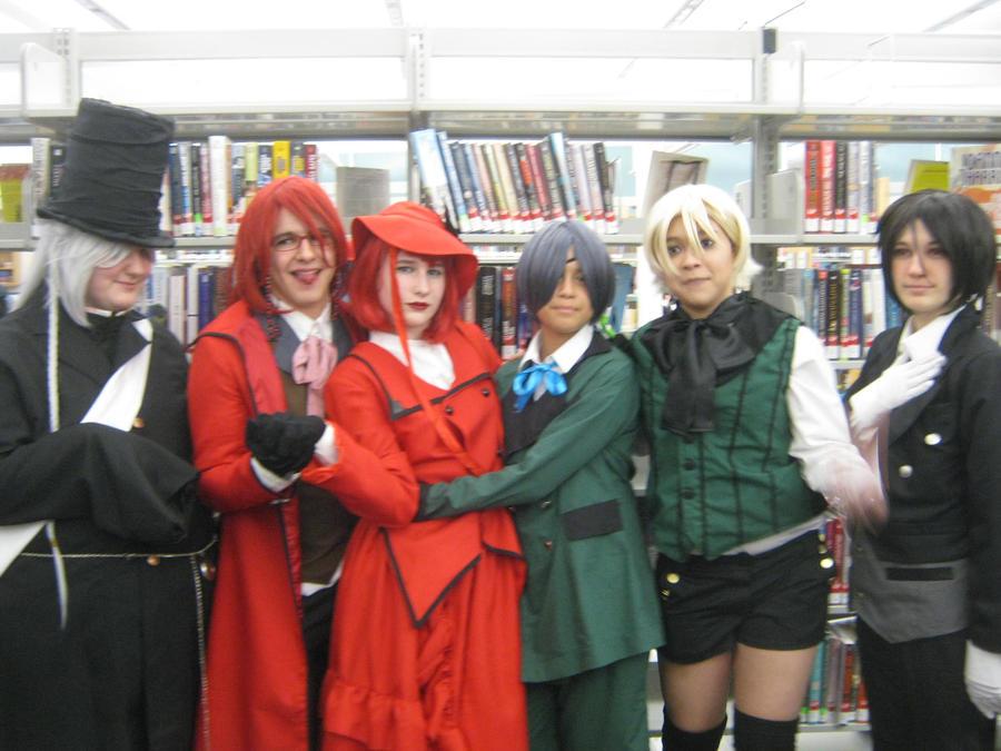 Kuroshitsuji Cast Picture~ by Yukionna-Fusenmei