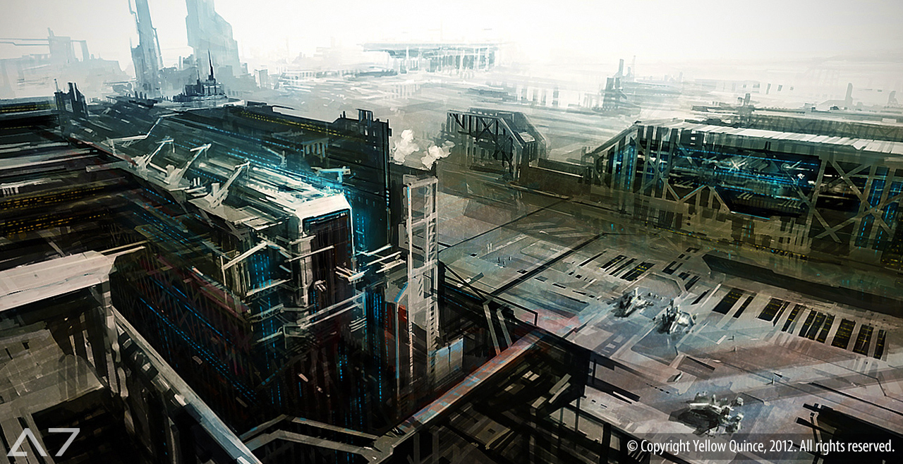 AEON7 - Republican Ground Shipyard by zilekondic