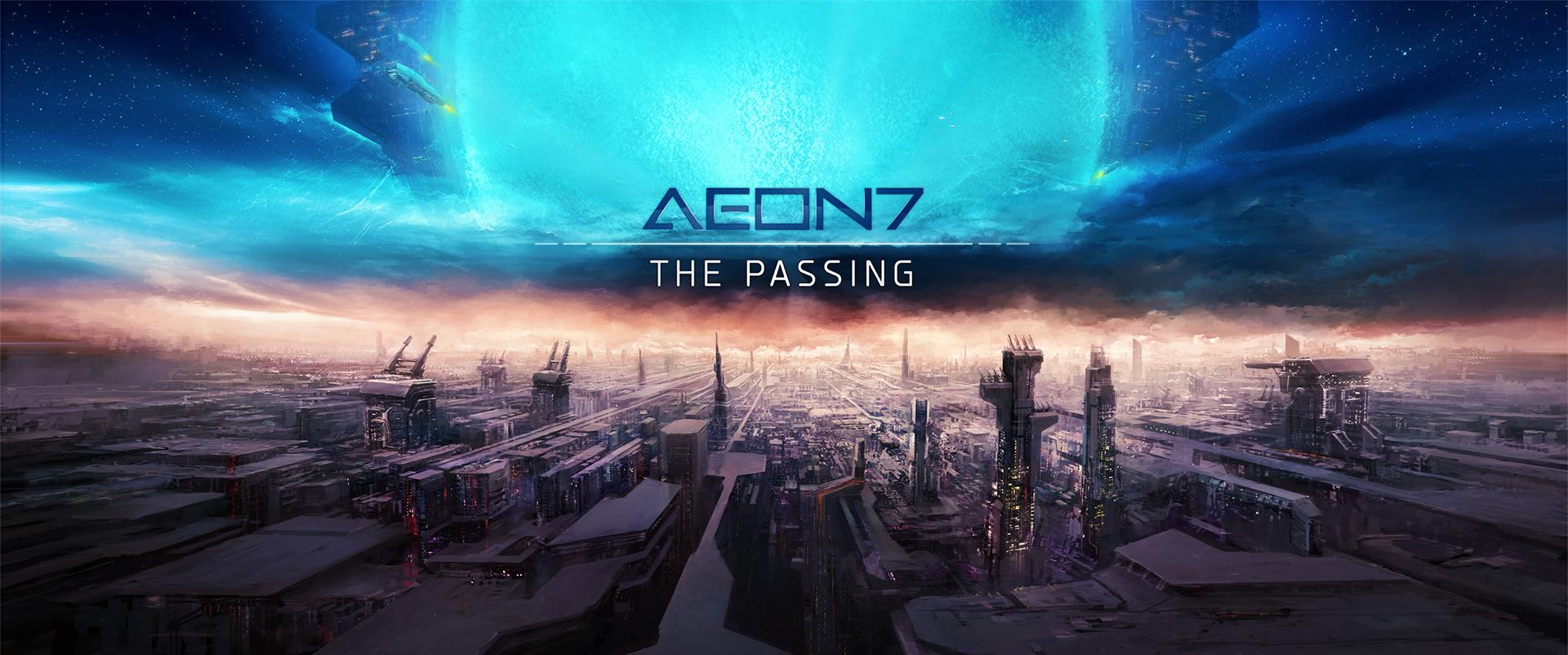 AEON7 - The Passing [Website artwork] by zilekondic