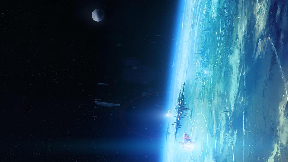 Untitled AEON7 lore+background image by zilekondic