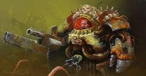 Death Guard Terminator by zilekondic