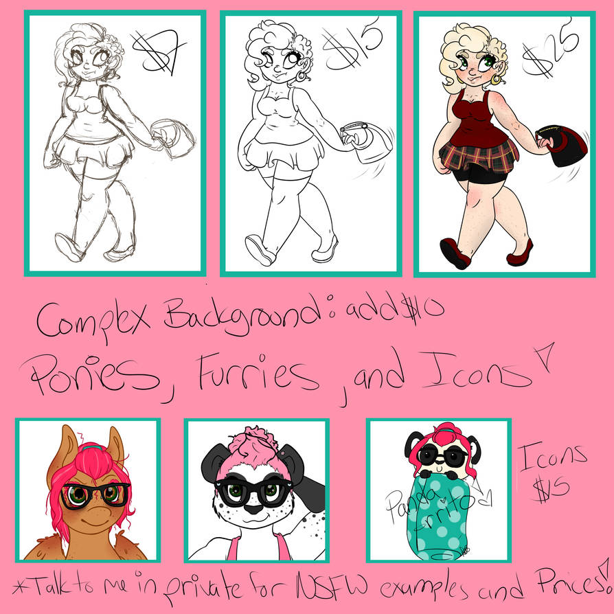 Commission Price Guide!