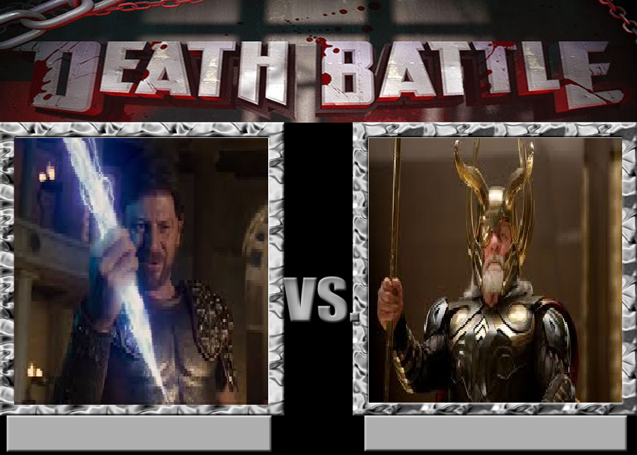 Death battle Zeus(Percy jackson) vs Odin(Marvel) by avdsouza