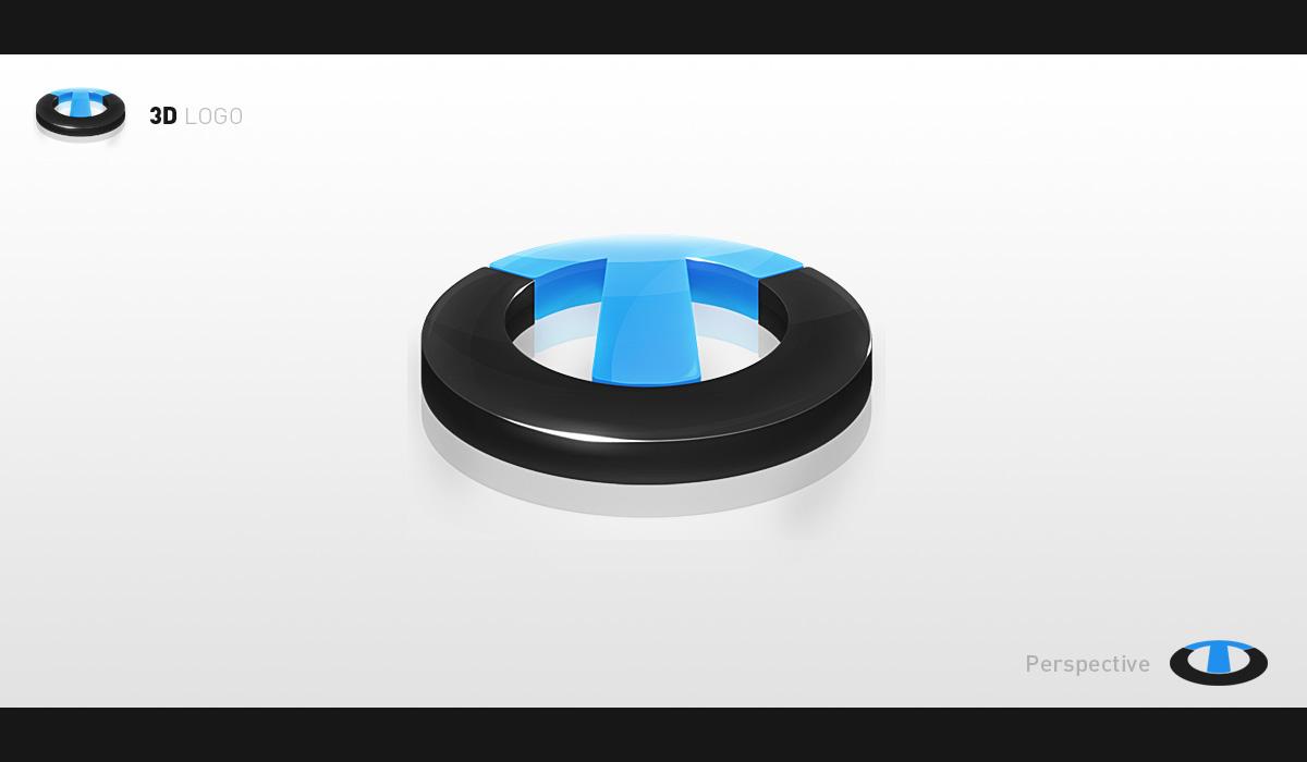 3d Logo Practice by ejsing