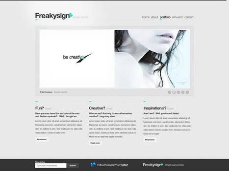 Freakysign - Design Studio