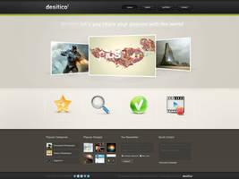 Desitico Webdesign by ejsing