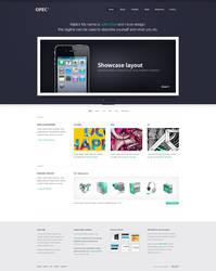 OPEC - Website design