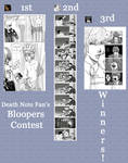 ++WINNERS++ Bloopers Contest by DeathNotefan
