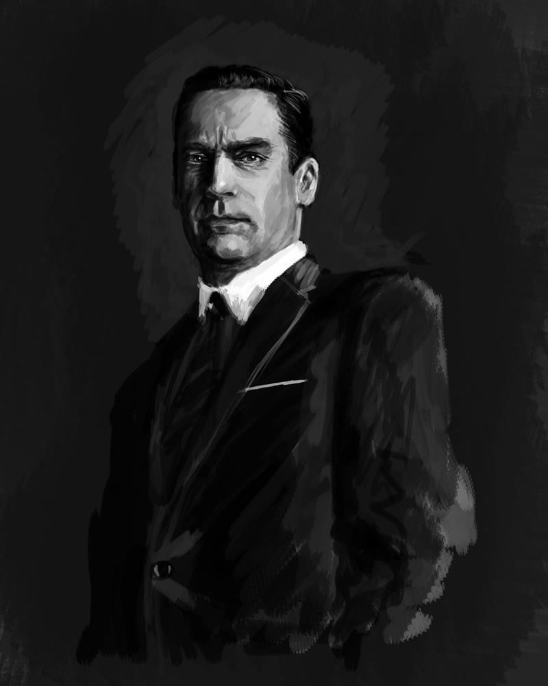 Don Draper by thewalkingman