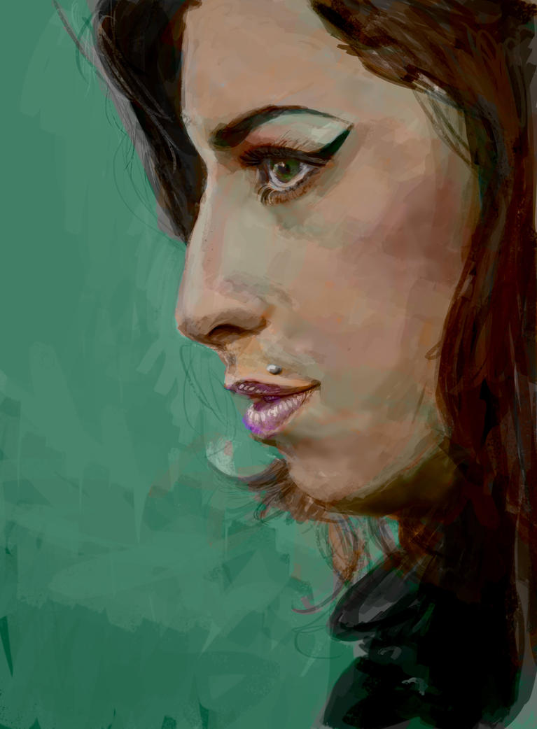 Amy Winehouse by thewalkingman