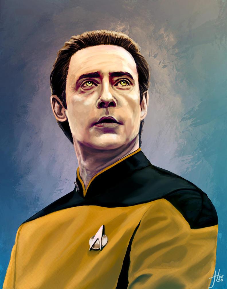 Lieutenant Commander Data by thewalkingman