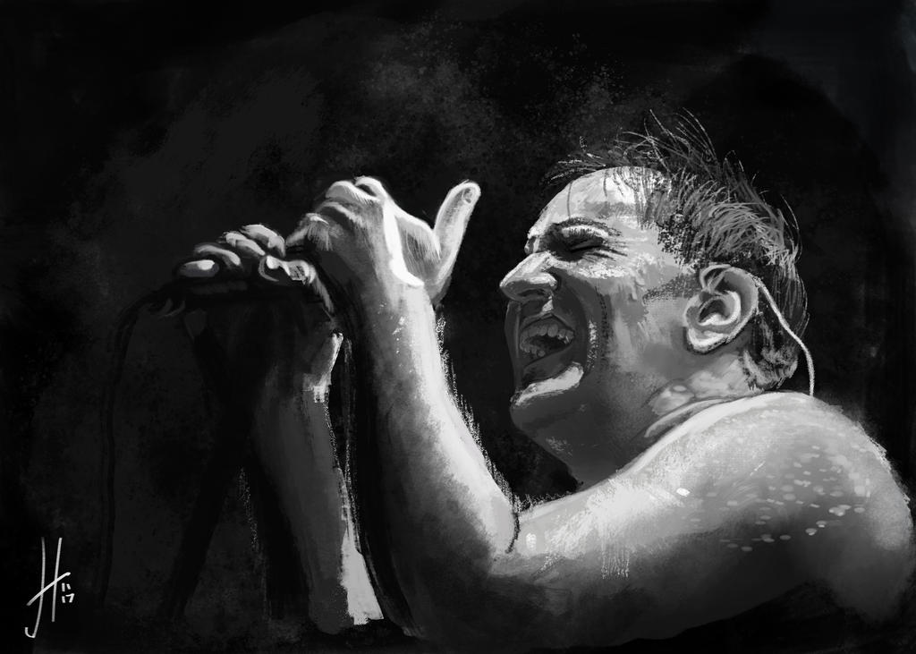 Trent Reznor by thewalkingman