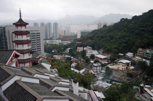 Hong Kong Cemetery Top View