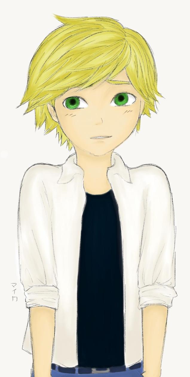Adrien Agreste by Miyuki-Hawkeye07