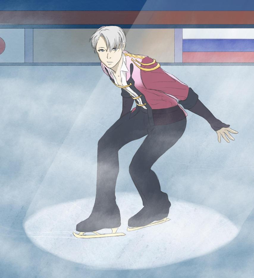 Yuri on ICE - Victor Nikiforov by Miyuki-Hawkeye07