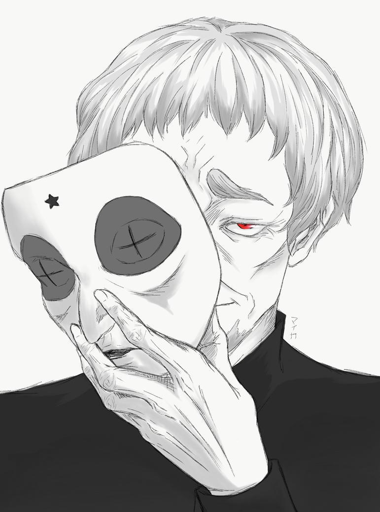 Tokyo Ghoul: re - Donato Porpora by Miyuki-Hawkeye07