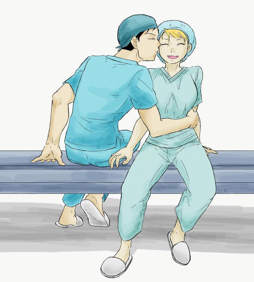 Royai - Doctors AU by Miyuki-Hawkeye07