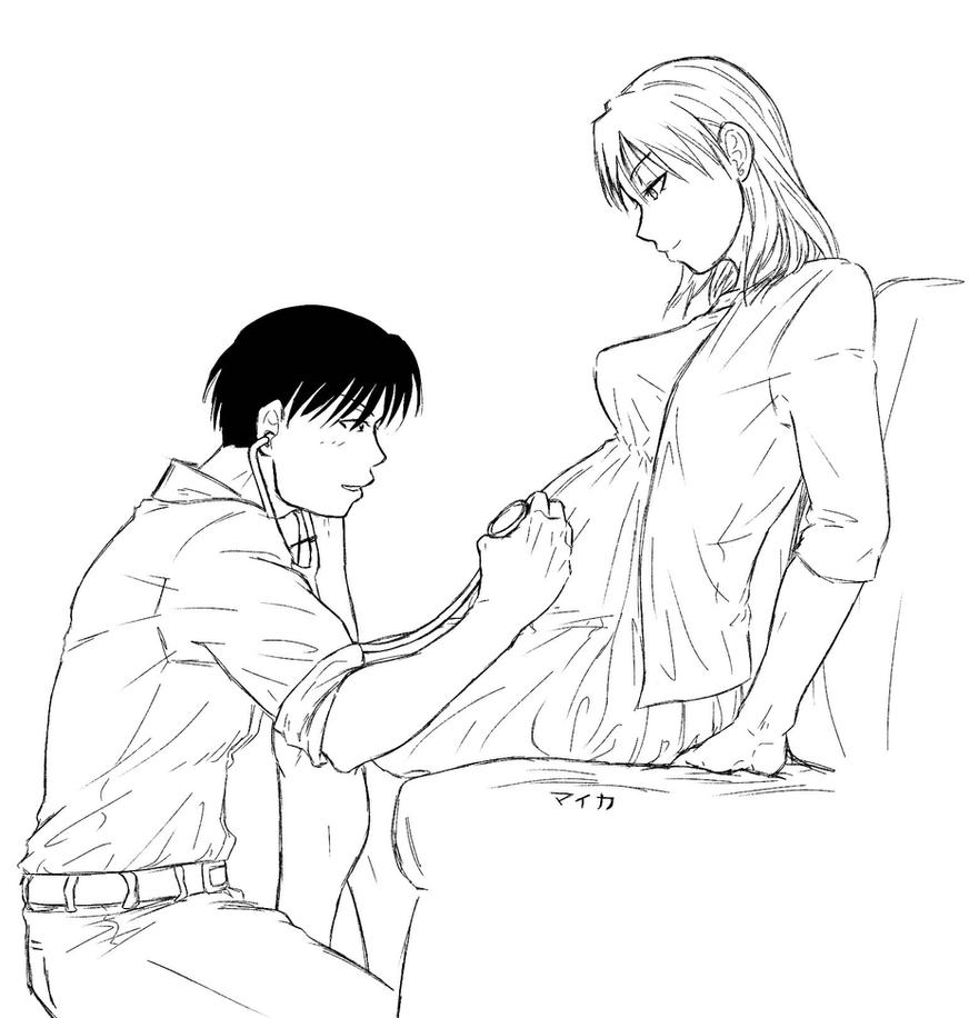 Royai - Its a boy! by Miyuki-Hawkeye07