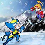 Wolverine Vs OmegaRed GvE