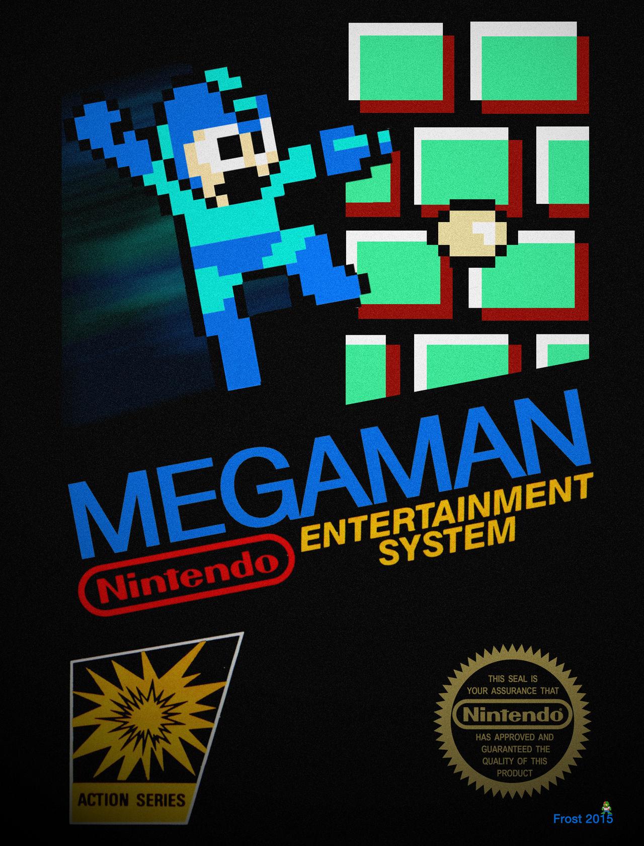 Megaman Cover