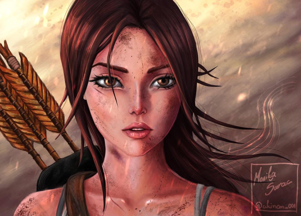Lara Croft Tomb Raider 2013 By Monika2001 On Deviantart